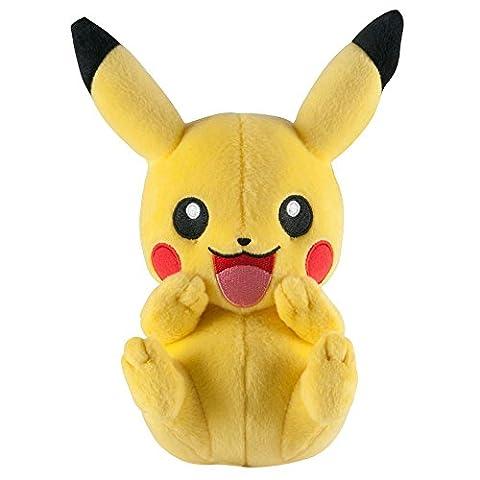 Pokemon T18536D5610HAPPYPIKA Peluche Pikachu 20,3cm