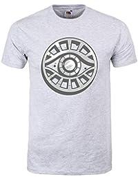 Grindstore Men's The Path Meyerism Symbol T-Shirt Grey