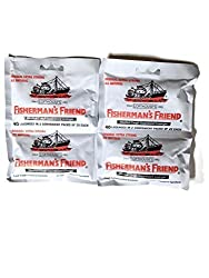 Fishermans Friend Original Extra Strong Cough Suppressant Lozenges, 40-Count Bags (2 Sets)
