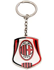 Milan AC Porte-clés Milan AC métallique Rouge