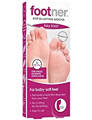 Footner Exfoliating Socks Total Callus Remover