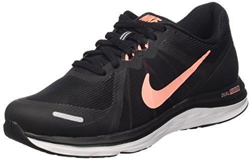 Nike Wmns Dual Fusion X 2 Scarpe da ginnastica, Donna Nero (Black/Atomic Pink-Black-White 060)