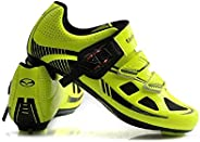Tiebao Road Cycling Spinning Lightweight Breathable Shoes Men Anti Slip Sports Sneakers Style Bike SPD Compati