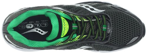 Saucony  Ride 6, Chaussures de running pour homme Grey/Green/Citron Gris - Grey/Green/Citron