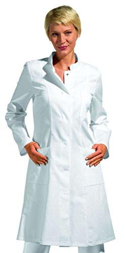 Leiber Mantel 1/1 Arm weiss, Größe: L -