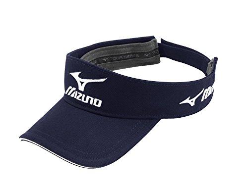 Mizuno 2015 Mens Golf Tour Visor - Adjustable Navy