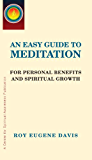 An Easy Guide to Meditation (English Edition)