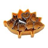 SHIJIAN Edelstahl Cartoon Cookie Obst Mini Form Gebäck Schneider für DIY Backformen Dekoration