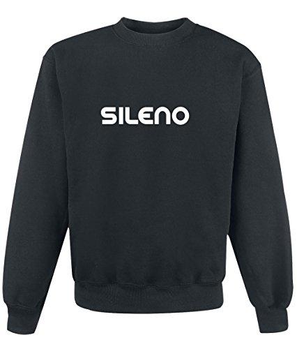 Preisvergleich Produktbild Sweatshirt Sileno - Print Your Name Black