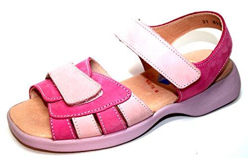 Der Kleine Muck  Bali, Sandales pour fille Rose - pink / barbie