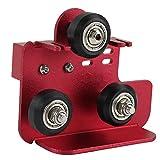 SODIAL Piastra di Supporto Posteriore per Estrusore 3D con Puleggia Parti della Stampante 3D Accessorio Piastra di Estrusione per CR-10 PRO CR-10S PRO