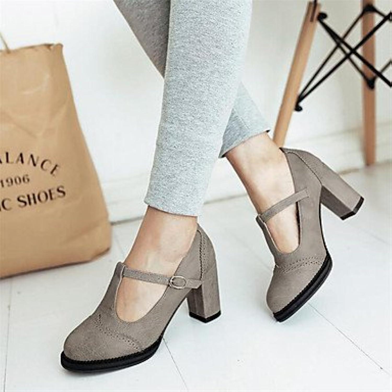 La Mujer Sneakers Confort Pu Confort Informal De Primavera De Lienzo Blanco Gris Plana Us9 / Ue40 / Uk7 / Cn41