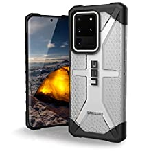 "Urban Armor Gear Plasma Samsung Galaxy S20 Ultra (6.9"") Coque Housse Etui (Antichoc, Compatible avec L'induction, Ultra Protection Bumper, Anti Rayure) - Ice/Transparente"