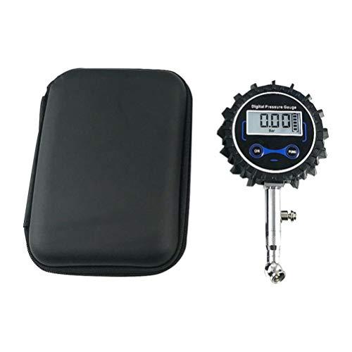 Hemobllo manometro digitale per pneumatici manometro gonfiatore display lcd tester di gonfiaggio veicoli monitoraggio manometro
