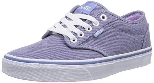 Vans - Atwood, Sneaker basse Donna Blu (Blau ((Washed Twill) FQY))