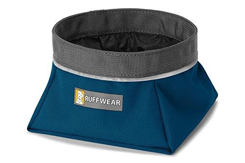 Ruffwear Quencher Faltbare Schüssel für Hunde, Blue Moon, groß (Stand Extra Große Hund Schüssel)
