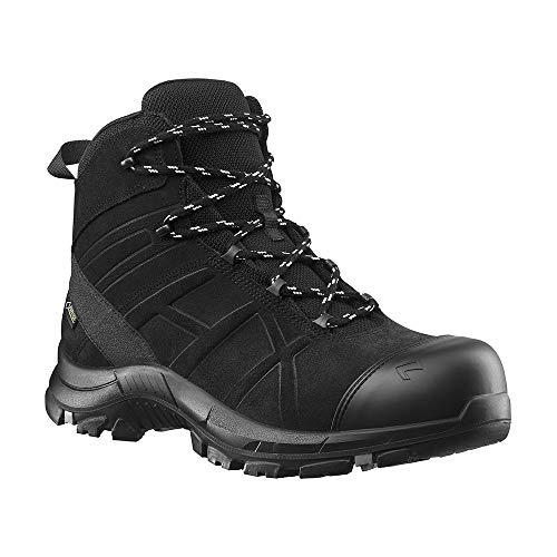 Haix Black Eagle Safety 53 Mid Leichte, metallfreie Sicherheitsschuhe: perfekt für den Rettungsdienst. 44