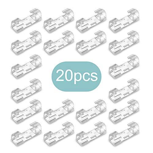 TiooDre - Abrazaderas de cable organizador de cables para sujetar sujetadores y...