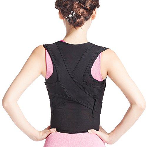 Selighting Corrector de Postura de Espalda Ajustables para Corrección de Postura Recto Hombro Espalda Postura para Hombres Mujeres Niños y Adolescente (M)