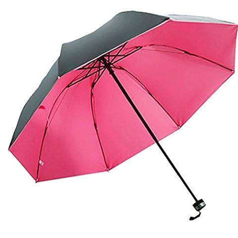 Parapluie de Voyage Pliable Parapluie Pliant Résistant Au Vent solid