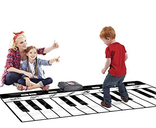 Lvbeis Baby Alfombra Musical Piano Mat Play Keyboard Gym Playspot Alfombra...
