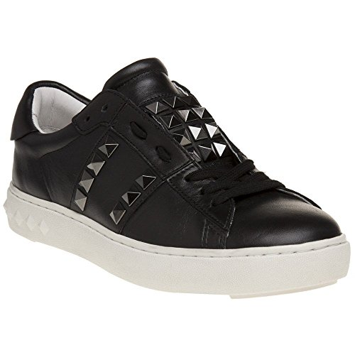 Ash Scarpe Party Sneaker in pelle nera Donna 38 Nero