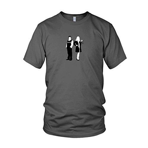 Richard and Kate - Herren T-Shirt, Größe: M, Farbe: (Kostüm Richard Castle)