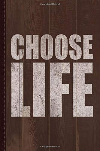 Choose Life Journal Notebook: Blank Lined Ruled For Writing 6x9 120 Pages por Flippin Sweet Books