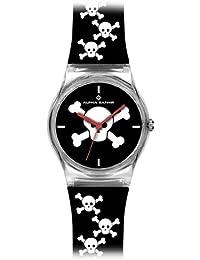 Alpha Saphir 315C - Reloj analógico unisex de cuarzo con correa de plástico multicolor - sumergible a 30 metros