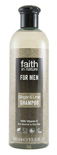 Faith in Nature for Men Ginger & lime shampoo