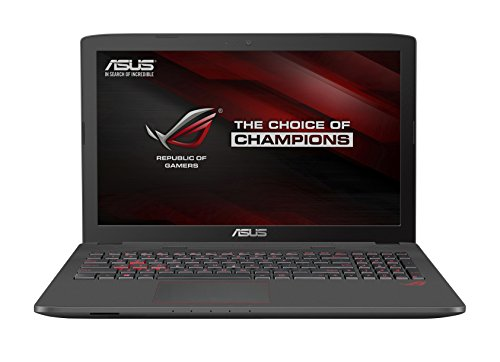 Asus ROG GL752VW-T4162T43,9 cm (17,3 Zoll Non Glare FHD) Laptop (Intel Core i7 6700HQ, 16GB RAM, 2TB HDD, 256GB SSD, Nvidia GTX 960M 4GB, Windows 10 Home) mattschwarz