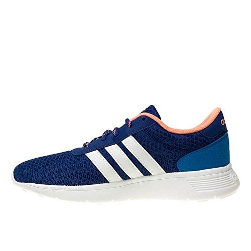 adidas Damen Lite Racer W Fitnessschuhe Weiß-Blau