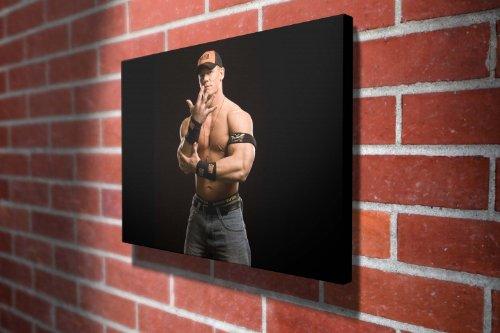 John Cena WWE Wrestling Gallery Framed Canvas Art Picture Print