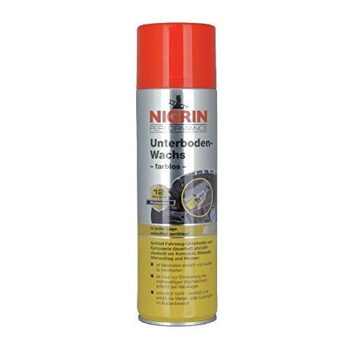 Preisvergleich Produktbild Nigrin Unterbodenwachs 500ml Spray Wachs farblos Unterbodenschutz Schutzwachs