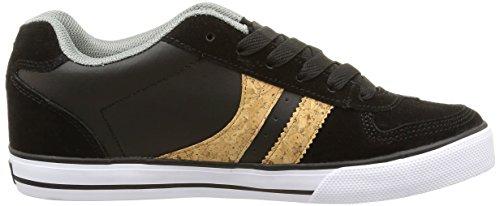 Globe Encore-2, Unisex-Erwachsene Sneakers Schwarz (black/cork/grey)