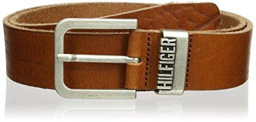 Tan Herren Jeans (Hilfiger Denim Herren Gürtel Original belt, Gr. 100 cm, Beige (TAN 950))