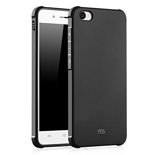 separation shoes 5e0fd 1cfa2 For Vivo Y55 / Y55L Back Cover 4 Cut iPaky Rubberized Matte Finish ...