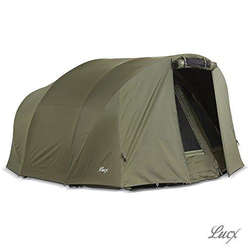 Lucx® Winterskin / Überwurf / Overwrap für Leopard Bivvy / Angelzelt / Karpfenzelt / Carp Dome (Kein Zelt nur Überwurf)