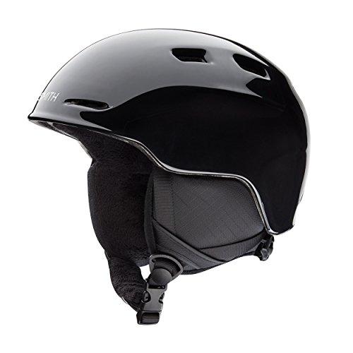 SMITH Kinder Skihelm Zoom Junior Helm, Black, M/53-58