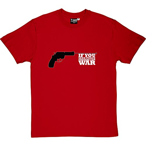 if-you-de-la-paz-seek-preparar-y-pantalla-a-juego-para-war-t-camiseta-de-manga-corta