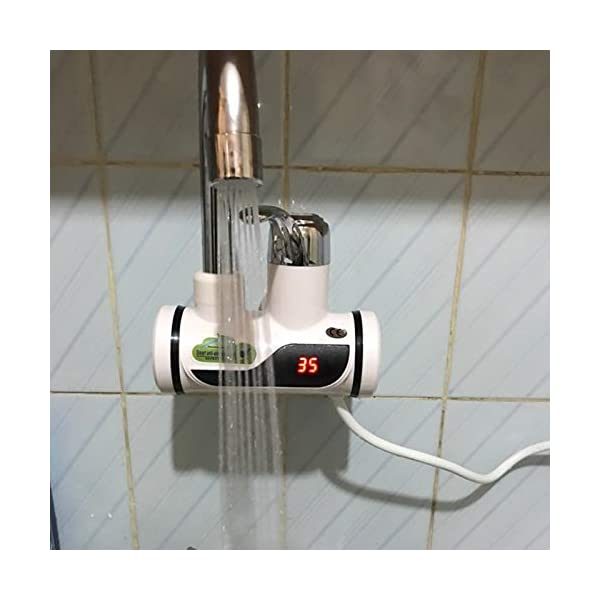 TOOGOO Cocina Sin Tanque Calentador De Agua 220 V 3000 W Grifo EléCtrico InstantáNeo Agua Caliente EléCtrico Calentador…