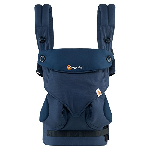 Ergobaby Babytrage Kollektion 360 (5.5 – 15 kg), Midnight Blue