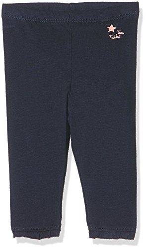 TOM TAILOR Kids Baby-Mädchen Legging with Ruffle, Blau (Black Iris Blue 6740), 68