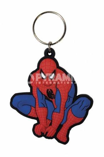 Marvel Spiderman Crouch gomma portachiavi