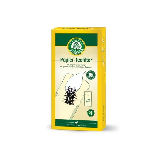 Lebensbaum, Papier-Teefilter Grösse 4, 100St