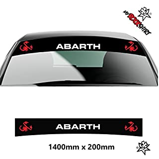 Abarth Skorpion + Blendsteifen+ Bonus Testaufkleber