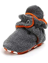 MK MATT KEELY Chaussons Bébé Chaussures Bébé Pantoufles Premiers Pas Chaussons Bébé Fille et Garçon