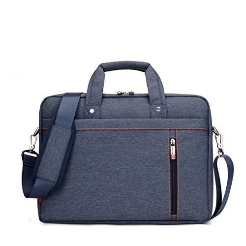 AREDOVL Laptop-Tasche, Laptop-Umhängetasche, multifunktionale Notebookhülle, Tragetasche mit Trageriemen für 13 Zoll 14 Zoll 15 Zoll 17 Zoll (Color : Blue, Size : 13inch)