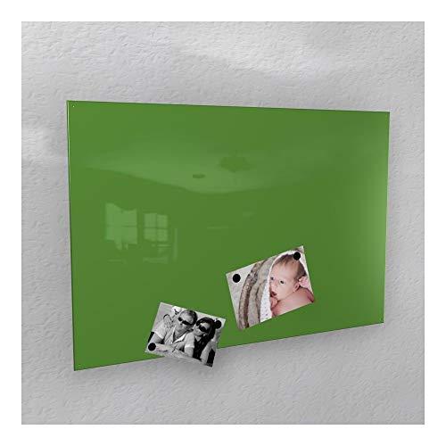 Colours-Manufaktur Magnetwand - grün glänzend Hochglanz * RAL 6018 * gelb-grün - 3 Verschiedene Größen - 40 x 60 cm ; 50 x 80 cm ; 60 x 90 cm - (60 x 90 cm)