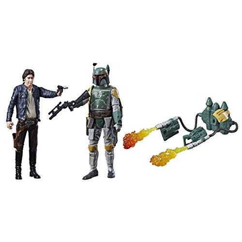 Star Wars Han Solo & Boba Fett Force Link Figura de acción de 2 paquetes